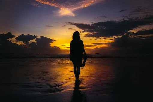People, Girl, Woman, Walking, Alone