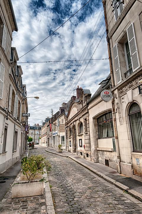 alley soissons picardy free photo on
