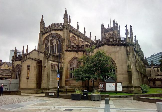 England, Cathedral, Manchester