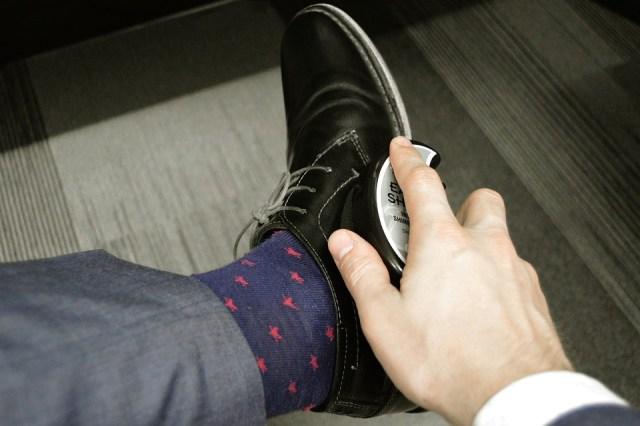 La chaussette, un détail important