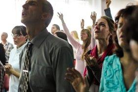 People, Lady, Woman, Man, Guy, Praying