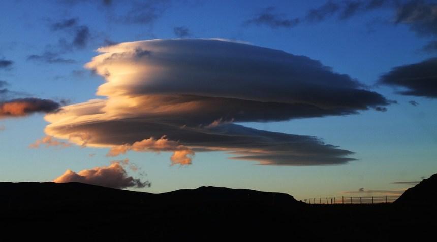 Lenticolare Cloud, Nuvola, Circolare Nuvole, Islanda
