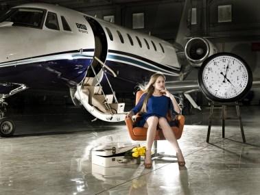 Aircraft, Woman, Fashion, Shower, Dress, Loneliness
