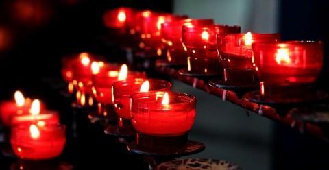 Candles, Church, Lights, Prayer, Tea Lights