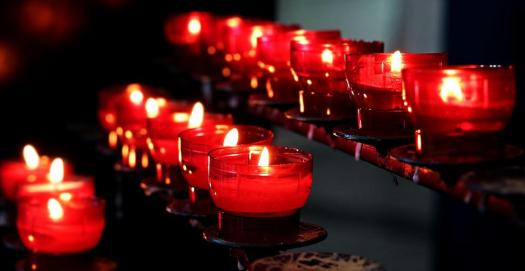 Candele, Chiesa, Luce, Luci, Preghiera, Luci Di Tè