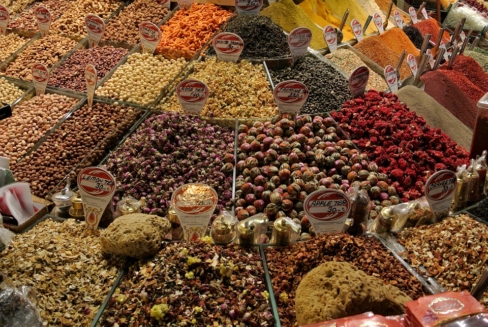 Spice, Grand Bazaar, Istanbul, Turkey, Bazaar, Market