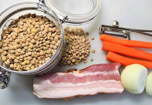 Lenti, Secchi, Marrone, Legumi, Alimentari, Bacon