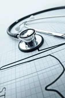 Health, Stethoscope, Heart, Hospital