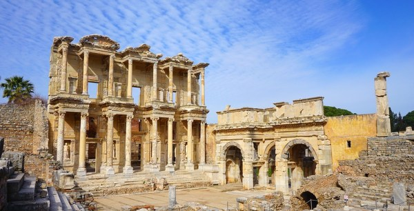The historical Greek city of Ephesus was one of the most important centres of the ancient era. Source: Pixabay