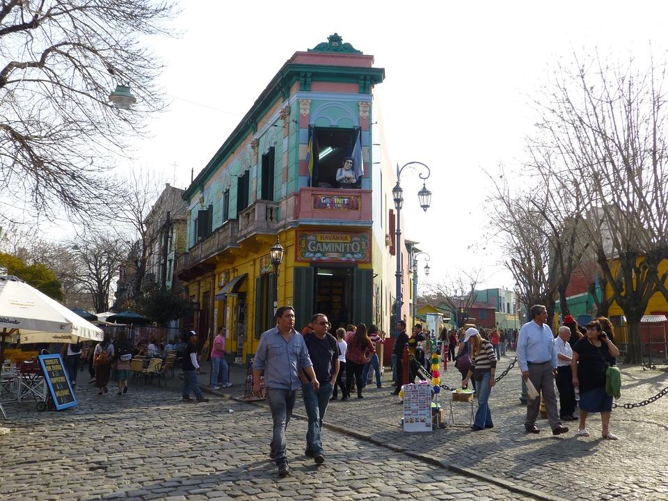 La Boca, Argentine, Buenos Aires, La, L'Architecture