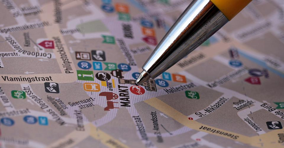 Street Map, Map, Search, To Find, Places Of Interest