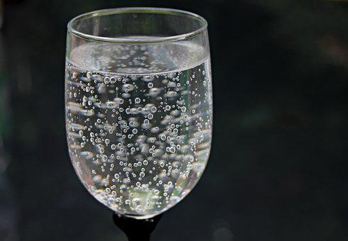 Air Glass, Air, Air Mineral, Gelembung