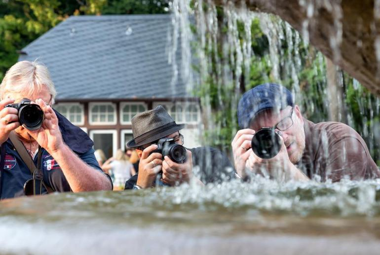 Photographer, Photograph, Camera, Lens, Recording, Man