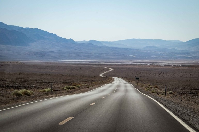 Highway, Road, America, Straight, Usa, Nevada, Mountain