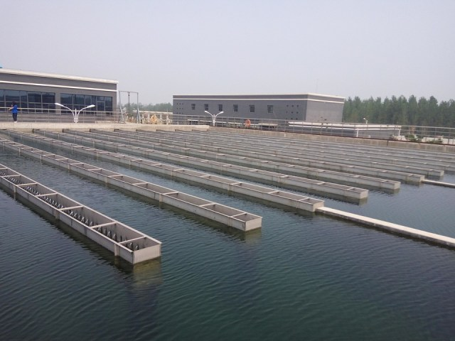 Water Treatment, Advection Sedimentation Tank