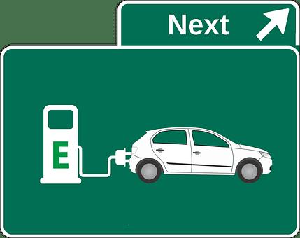 Electric Car, Petrol Stations