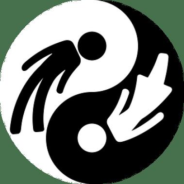 Yin, Yang, Emblema, Niño, Género, Icono