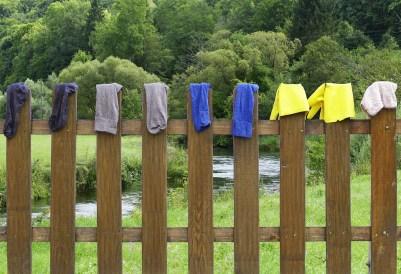 psicología lavadora ropa calcetines pérdida colores