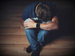 Man, Mourning, Despair, Emotion, Pain