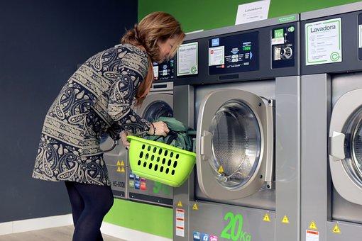 Laundry, Washing Machine, Wash