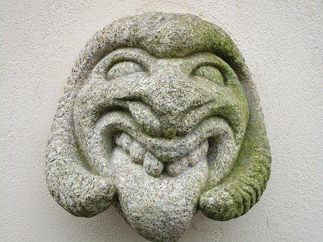 Devil, Stone, Figure, Stone Sculpture, beelzebul