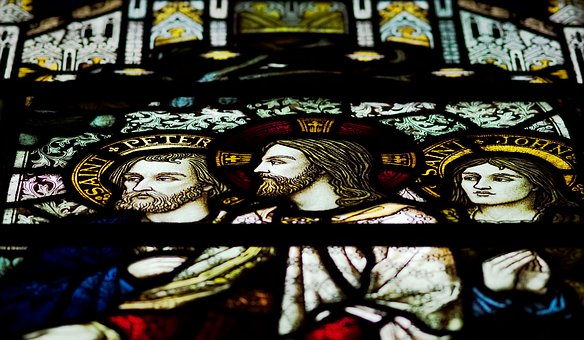 Jesus, Christ, Stained, Glass, Window, questions