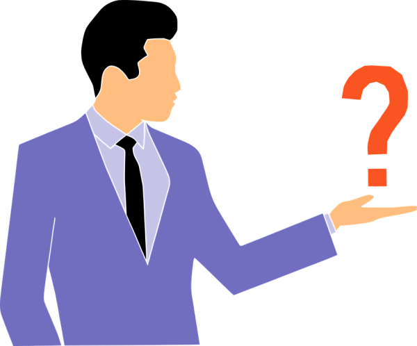 Questions Quiz Man · Free vector graphic on Pixabay