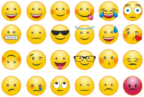 Emojis Smilie Whatsapp - Free vector graphic on Pixabay Different smiley faces