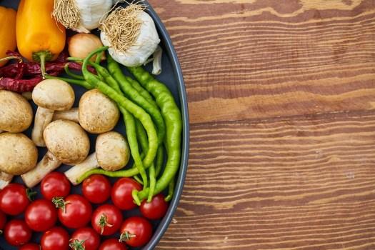 Pomodoro, Fungo, Pepe, Rosso, Verde, White, Vegetale