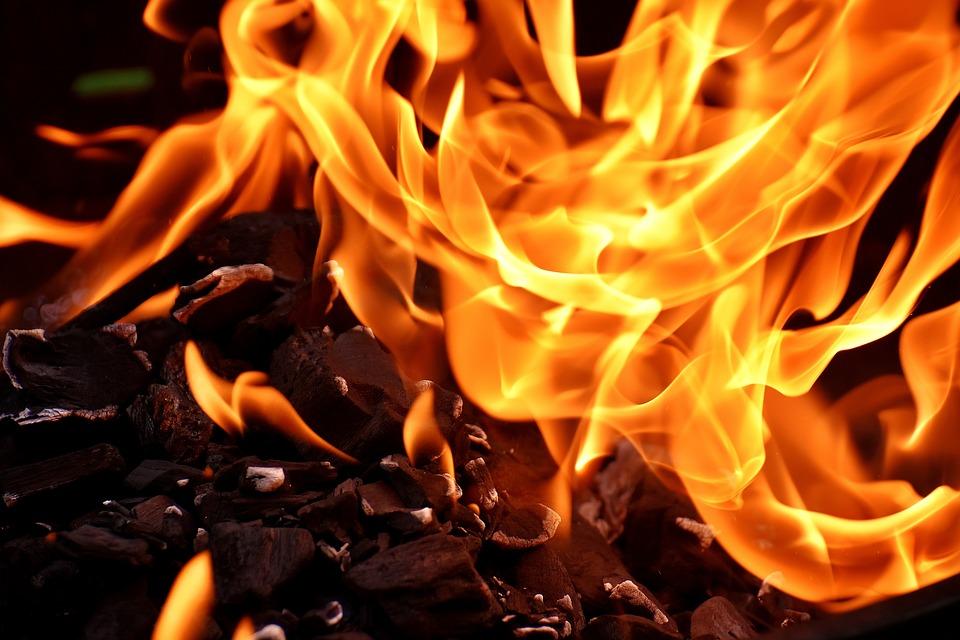 火, 炎, 炭素, 燃やす, ホット, 気分, キャンプファイア, 暖炉, グリル