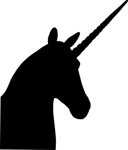 Unicorn Silhouette Fantasy Free Vector Graphic On Pixabay
