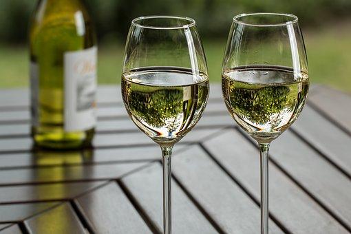 ワイン, ワイングラス, レジャー, ドリンク, アルコール, ガラス, ボトル