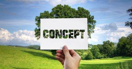 Konzept, Natur, Baum, Umwelt + Kredit innerhalb 30 Minuten!