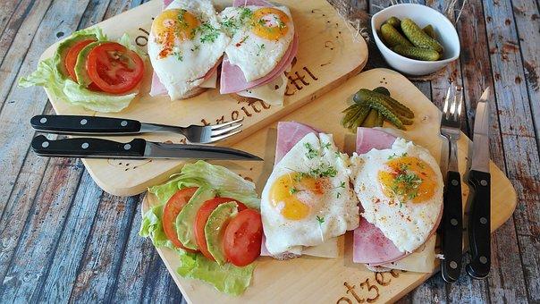 Bread, Ham, Tight Max, Egg, Fried, Food