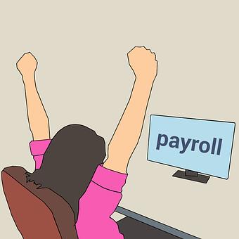 ビジネス, 成功, 給与, 女性, インセンティブ, 支払い, 幸福