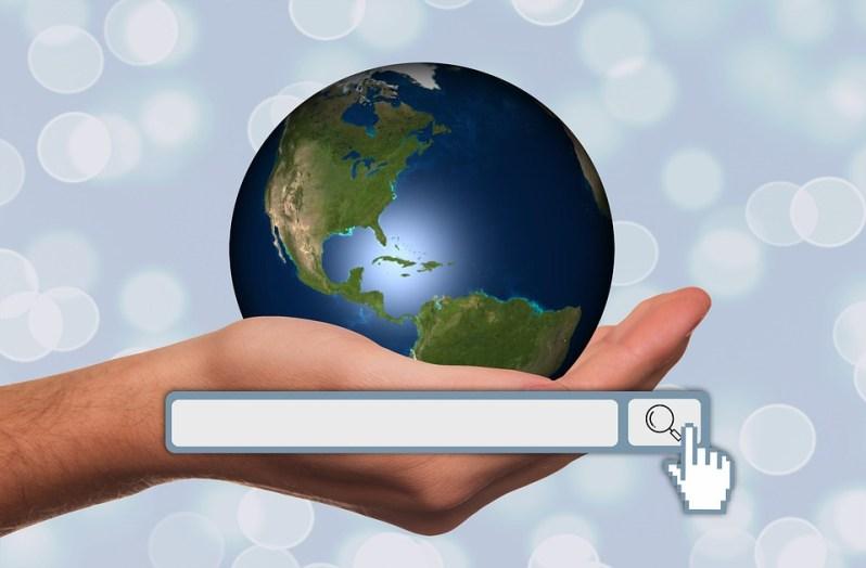 Mano, Mantenere, Globo, Search Engine Optimization, Seo