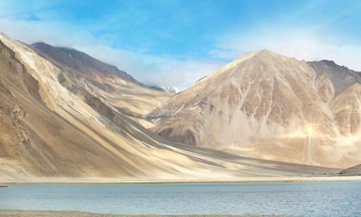 Ladakh, Montagne, Fiume, Viaggio, Himalaya