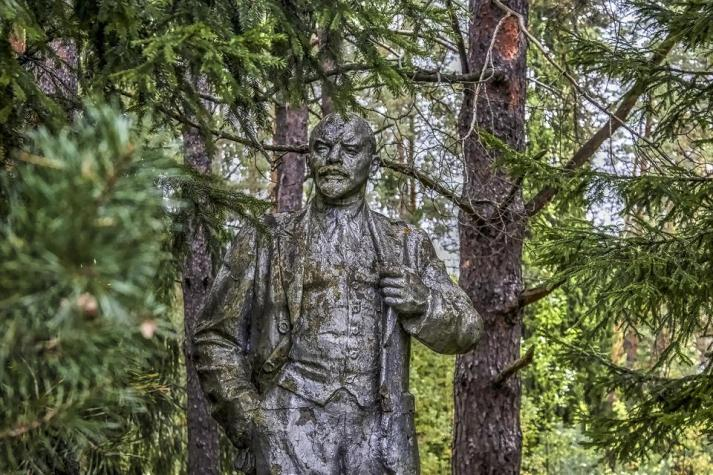 Lenin, Sculpture, Monument, An Abandoned