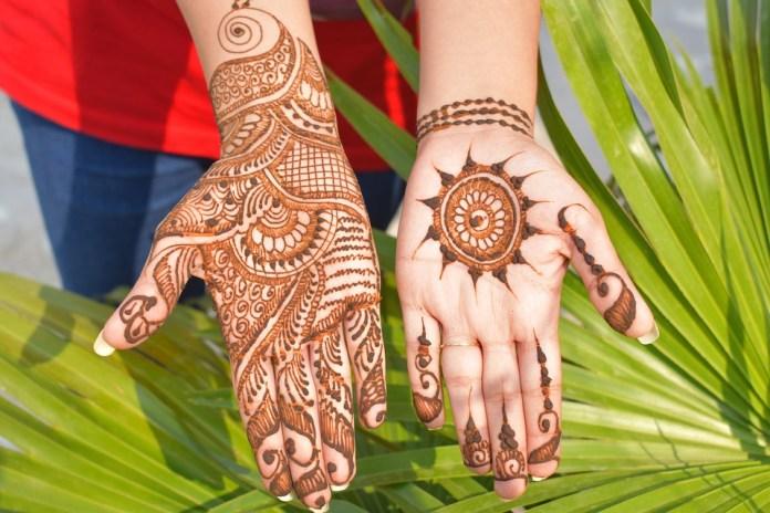 mehndi designs karwa chauth 2018