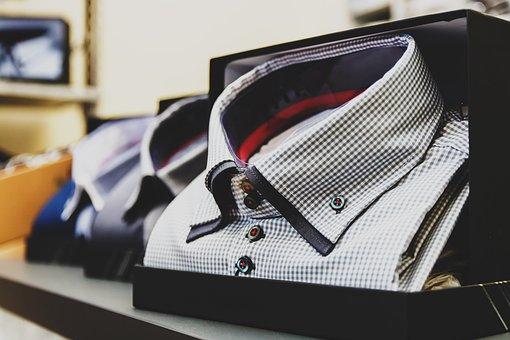 Folded Dress Shirts