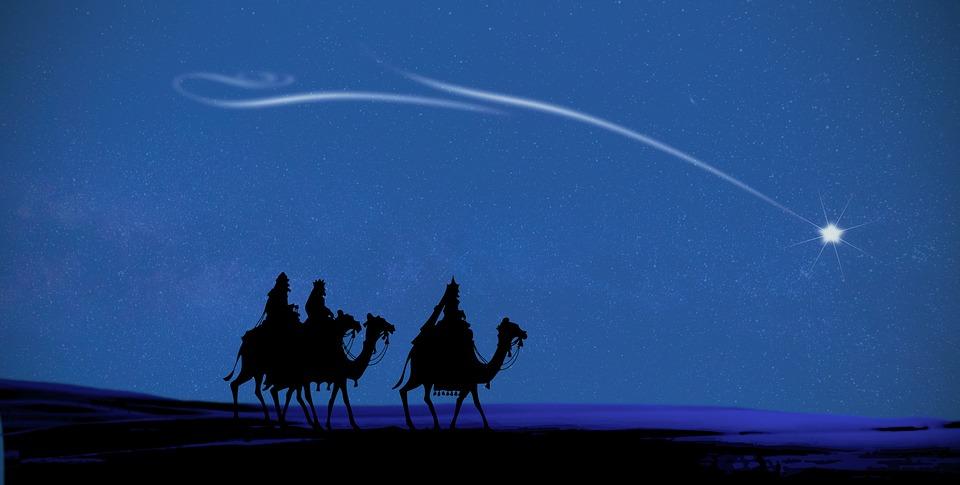 Christmas, Magi, Christmas Card, Merry Christmas