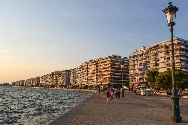 Ελλάδα, Thessaloniki, Περιπάτου, Πόλη, Αστικές