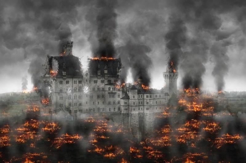 Destrucción, Guerra, Conflicto, Explosivos
