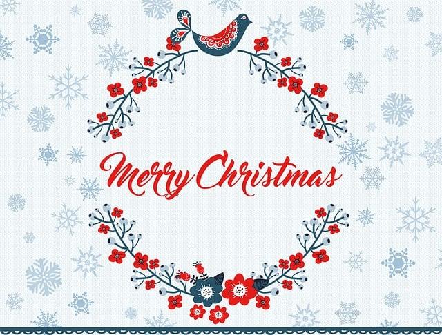 Merry Christmas Greeting Free Image On Pixabay