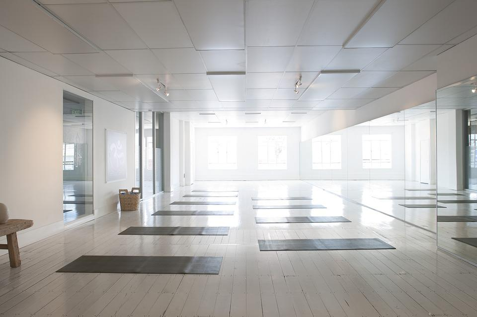 Yoga, Studio Shot, Health, Interior