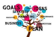 Business, Plan, Tree, Growth, Grow