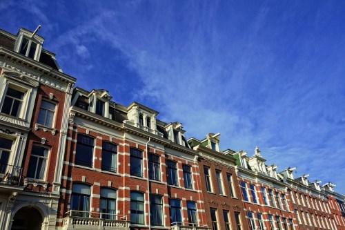 Facade, Building, Townhouse, Historic, Row