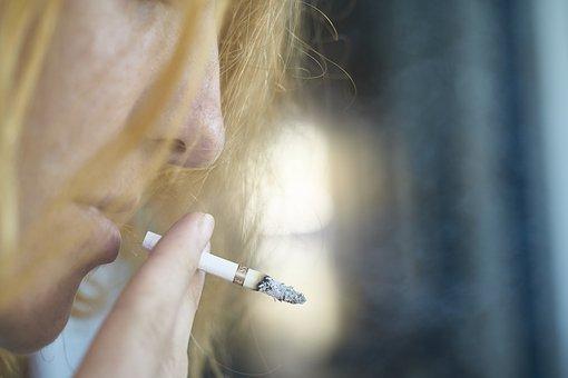 Γυναίκα, Πορτραίτο, Τσιγάρο, Smokey