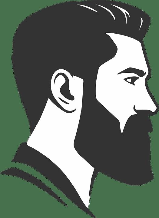 Vector Beard Barber Shop Free Image On Pixabay