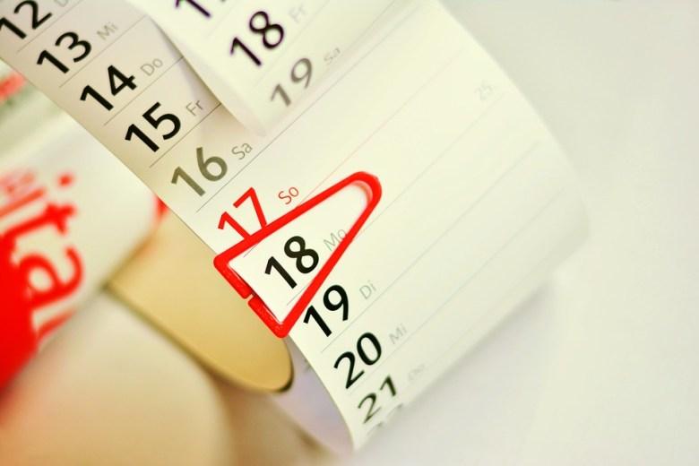 Kalender, Kalendarium, Datum, Termine, Planung, Merken